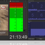 JIPEncoder with IP input and Graphics overlay serving as IP to IP transcoding and streaming solution.
