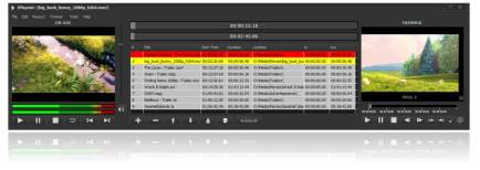 JPlayout is a SD/HD/4K/3D playout software solution that supports file-based playback of various digital media files.