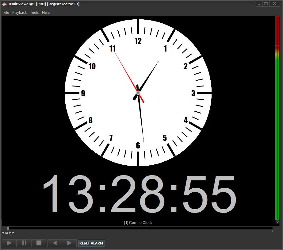 Digital and analog system clocks are now available in the latest JMultiViewer's release.