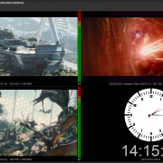 JMultiViewer Free with up to 4 channels preview and monitoring